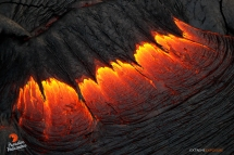 The luminosity and movement of lava is AMAZING... its just mesmerizing to witness, let alone shoot! There's no place I'd rather be than hanging out of a helicopter, looking down upon it...